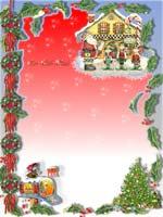 miniatura letterina Babbo Natale
